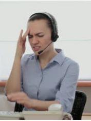 Service desk operator