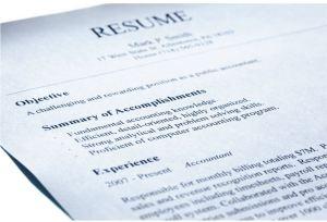 Resume picture