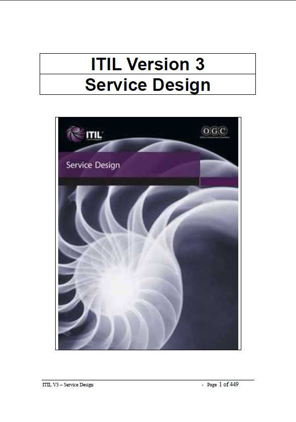 Itil v3 pdf free download tom smyth 39 s blog for Itil v3 templates